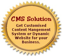 CMS, Content Management System, Dynamic Website, Database Website
